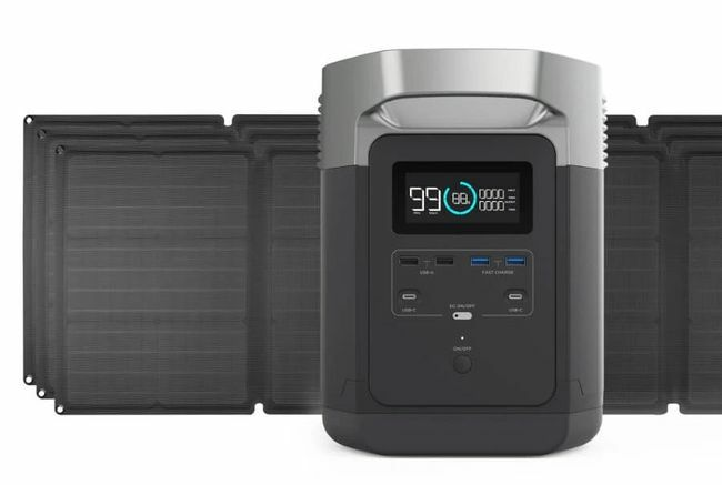 EcoFlow Delta Solar Generator Kit with 330 Watts of Solar
