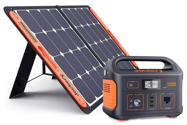 Jackery Explorer 550 Solar Generator Kit