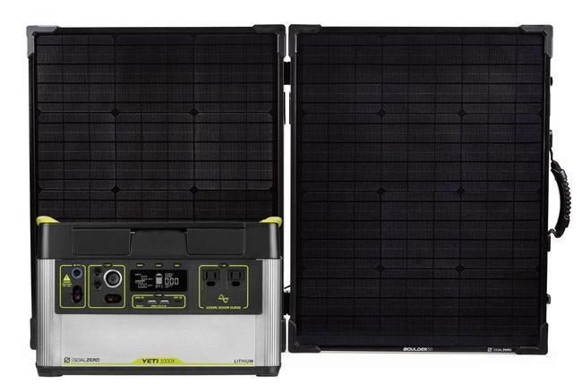 Goal Zero Yeti 1000X Solar Generator Kit