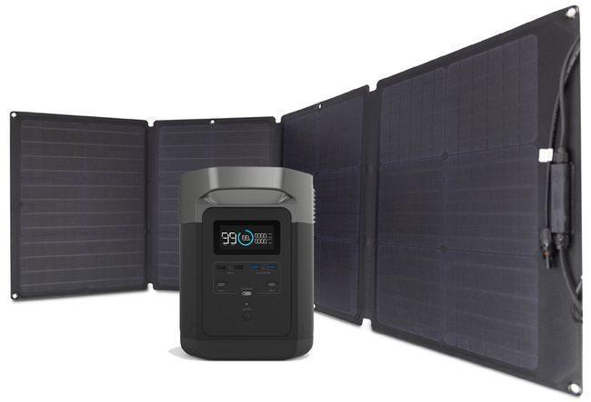 EcoFlow Delta Solar Generator Kit