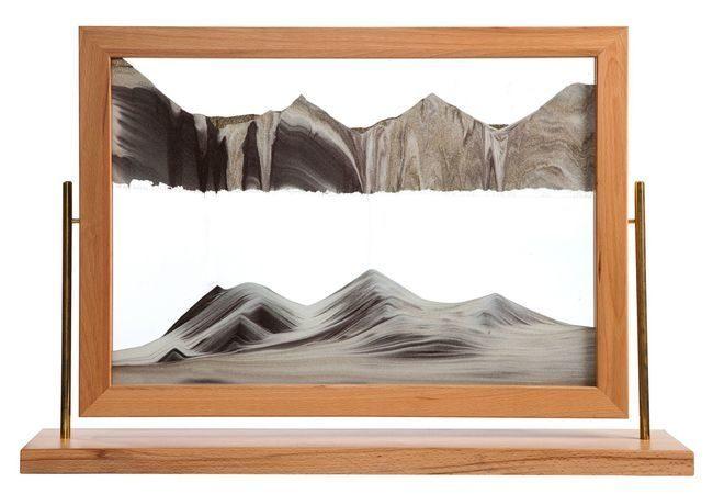 Sahara Sand Art by Klaus Bosch - 32 x 22 Inches