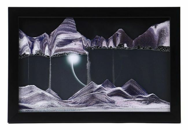 Sand Art Picture - Diamond Ring By Klaus Bosch
