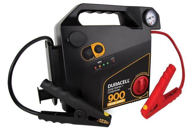 Duracell Jump Starter 900 with Air Compressor