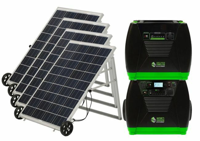 Natures Generator Elite Solar Generator - Platinum Kit
