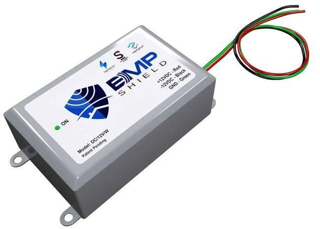 EMP Shield - 12V DC EMP, Solar Flare, and Lightning Protection - Vehicles