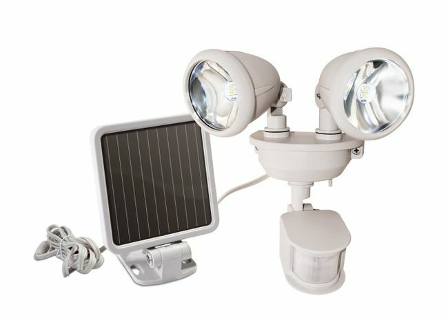 Solar LED Dual Security Motion Sensor Spotlight