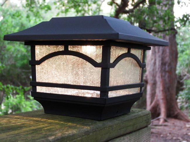 Solar Post Cap and Deck Railing Lights - 2 Pack