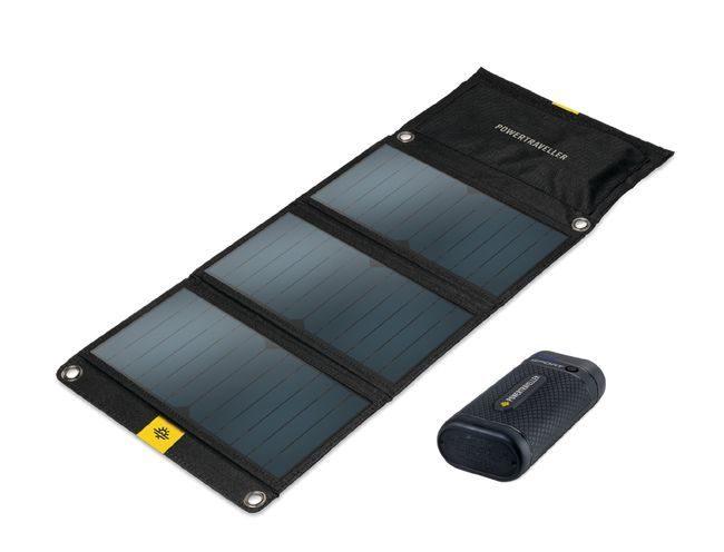 Powertraveller Sport 25 Battery and Falcon 21 Solar Panel Kit