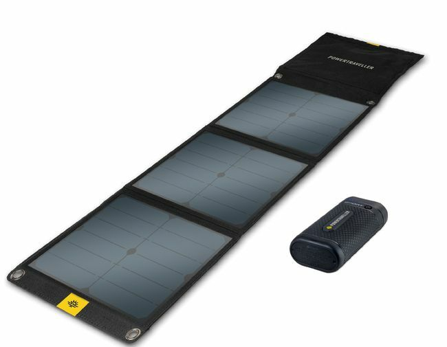 Powertraveller Sport 25 Battery and Falcon 40 Solar Panel Kit
