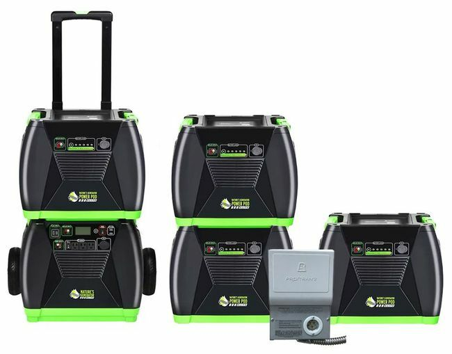 6 kWh Home Energy Storage Kit - Featuring the Natures Generator Elite
