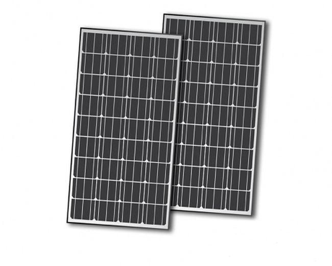 Nature Power 330 Watt Monocrystalline Solar Panel Kit