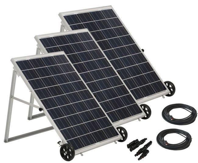 Natures Generator Power Panel Kit - 3 Panel System