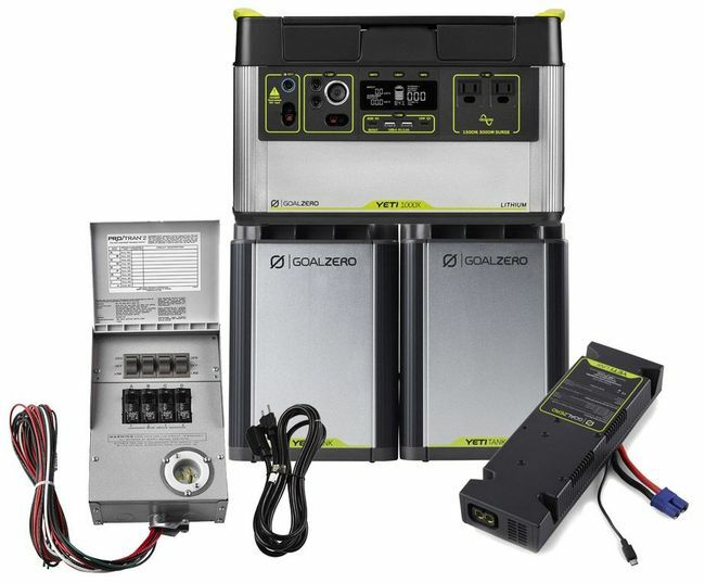 3.3 kWh Home Energy Storage Kit - Featuring the Yeti 1000X - V2