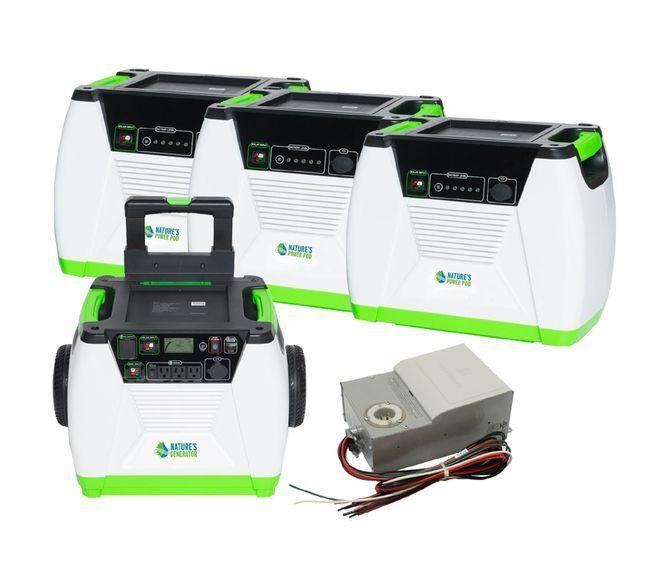 Natures Generator Max 4.3 kWh Power Kit