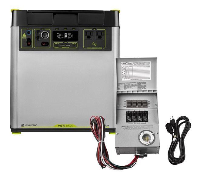 Goal Zero 6 kWh Home Energy Storage Kit - V2