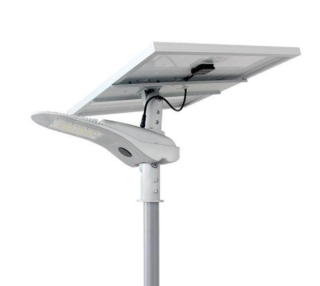 Earthtech Products LED Commercial 80 Watt Solar Street Light - 8000 Lumen