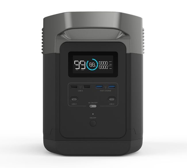 EcoFlow Delta Power Station - Battery Backup Portable Generator