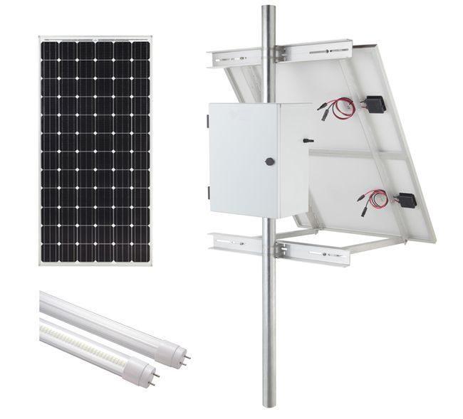 Internally Illuminated Solar Sign Kit (2-Sided) - 9300 Lumens