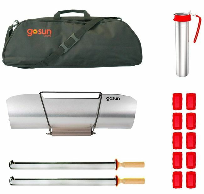 GoSun Solar Stove Sport Pro Pack with Extra Cooking Dish, GoSun Brew and Carrying Case BONUS Kit