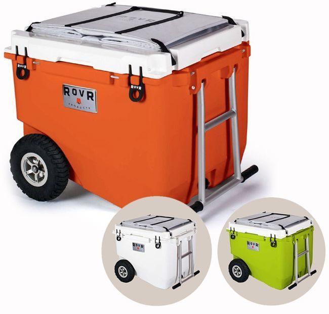 RollR 80 Portable Cooler on Wheels