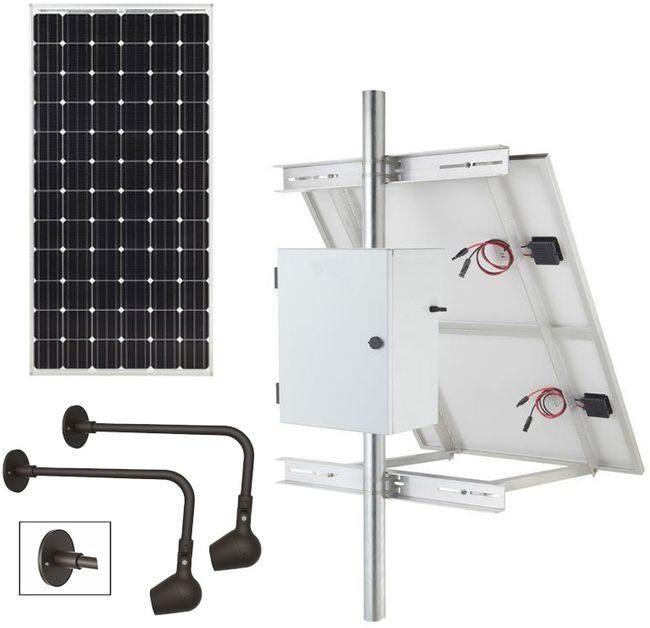 Commercial Solar Billboard Lighting Kit