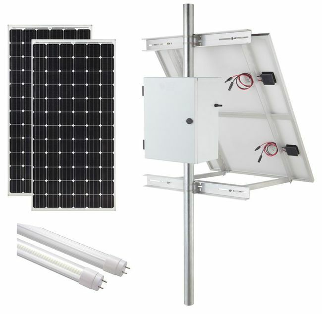 Internally Illuminated Solar Sign Kit (2-Sided) - 5270 Lumens