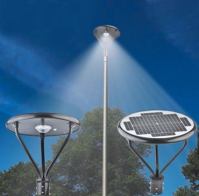 Solar Parking Lot Light - 100 Watt 12000 Lumens