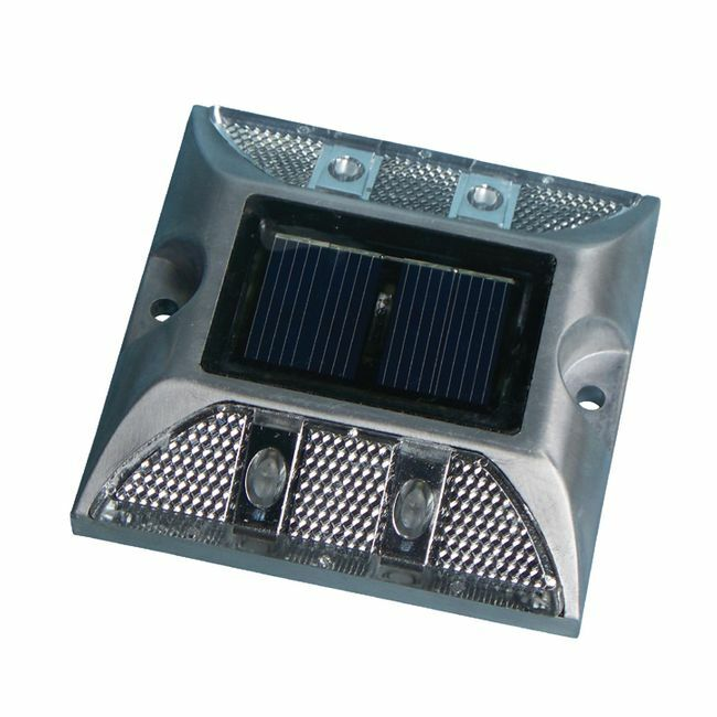 Dock Edge HD Aluminum Solar Dock Lite - For Decks, Docks and Pathways