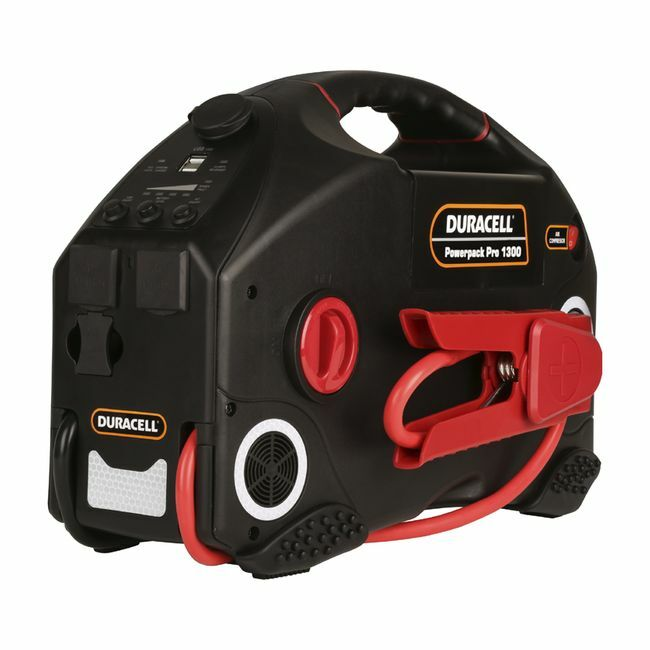 Duracell Powerpack Pro 1300 AC Inverter, Jump Starter and Air Compressor