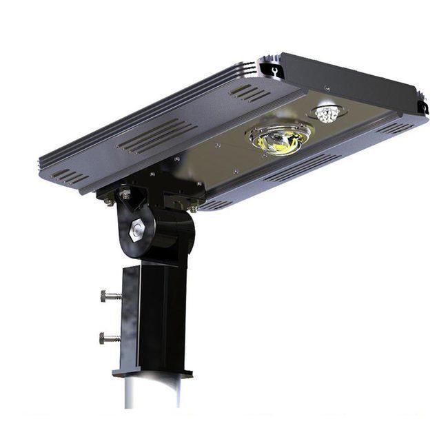 Earthtech Products Smart LED Integrated Lithium Battery Solar Street Light - 10 Watt (1600 Lumen)