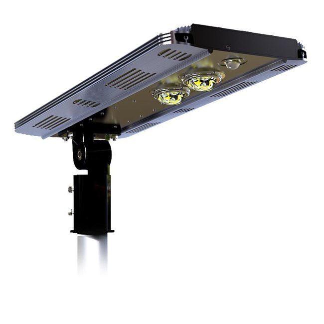 Earthtech Products Smart LED Integrated Lithium Battery Solar Street Light - 15 Watt (2400 Lumen)