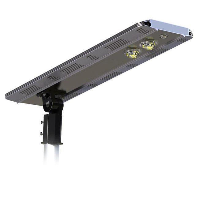 Earthtech Products Smart LED Integrated Lithium Battery Solar Street Light - 20 Watt (3200 Lumen)