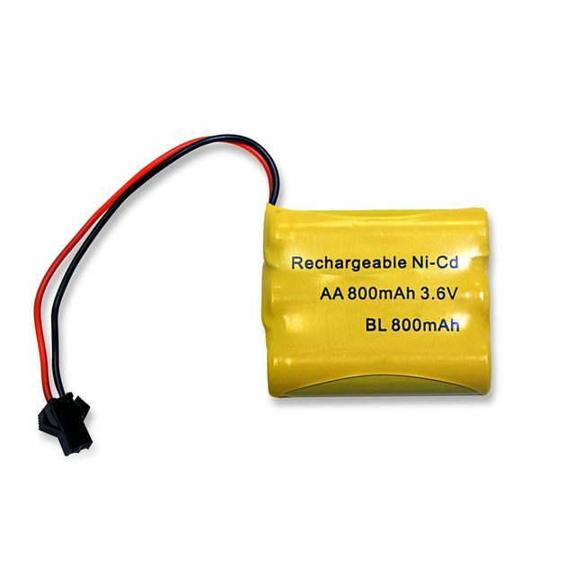 Gama Sonic 800 mAh Replacement Battery - for GS-114B-FPW Series Lamps - Lithium Ion