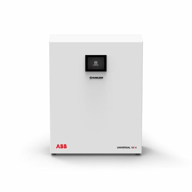 Humless Universal 10.4 Battery Backup System - Grid-Tied and Off-Grid Panel Compatibility