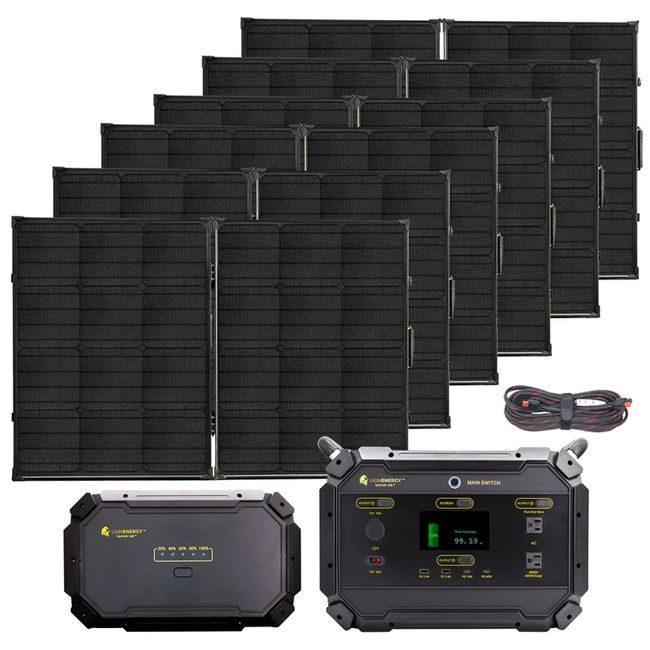 Lion Energy Safari ME Deluxe Solar Generator Kit