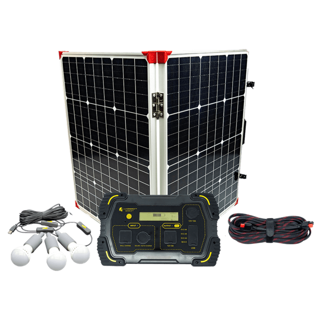 Lion Energy Off Grid Camping Package