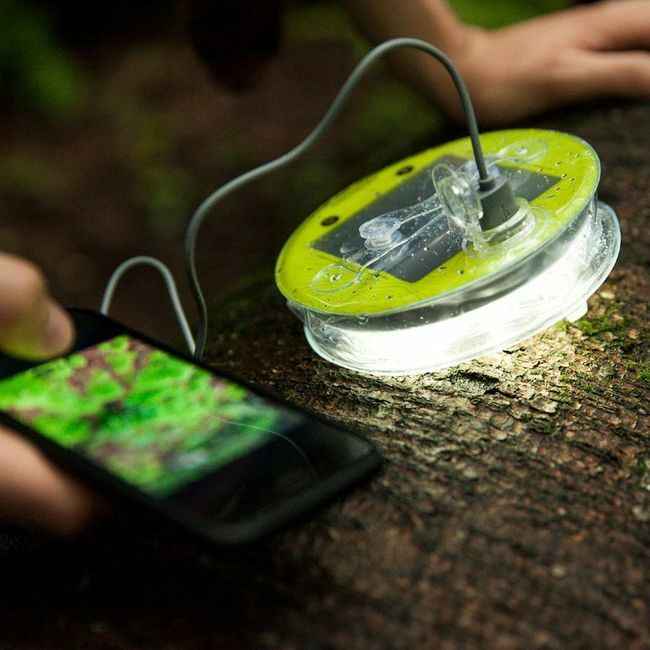 Luci Pro Series Outdoor 2.0 Solar Light with Mobile Charging