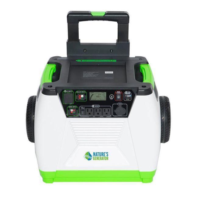 Natures Generator Portable 1800-Watt Solar Generator