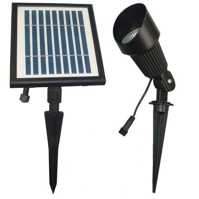 SGG-S12 Solar Spot Light - 12 High Power LEDs - Cool White