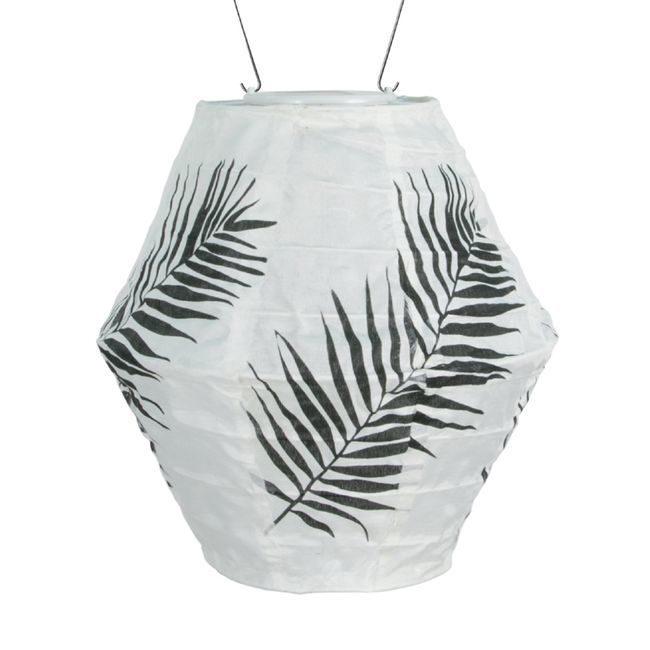 Soji Canvas - Round Diamond - Black Palm