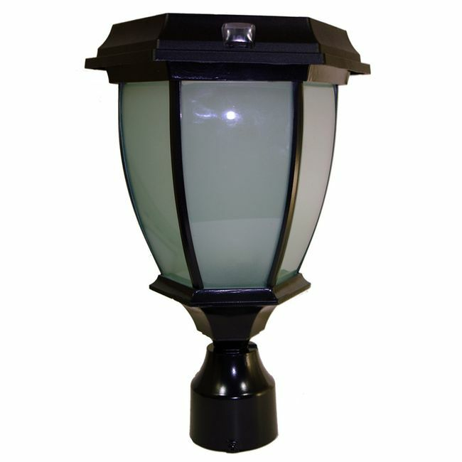 Solar Coach Lamp with 3 Fitter Mount