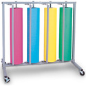 "36"" Four Roll Vertical Paper Rack"