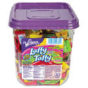 Wonka Assorted Flavor Laffy Taffy, 3.08 lbs, 145 Wrapped Pieces/Tub