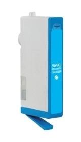 HP CB323WN #564XL Compatible Inkjet Cartridge (750 page yield) - Cyan