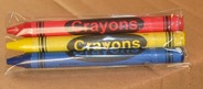 3-Pack Premium Cello Crayons (720 packs/case)