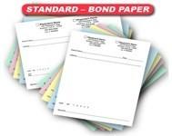 Standard - 24# Bond Paper Prescription Pads