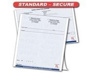Standard-Secure Prescription Pads