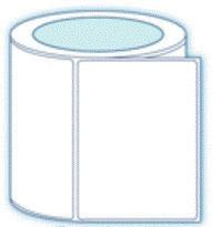 "2.5"" x 1""  Premium Direct Thermal Paper Label;  3"" Core;  8 Rolls/case;  5500 Labels/roll"