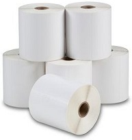 """3"""" x 80' - Continuous GHS Matte Inkjet Label - Synthetic; 12 Rolls/case"""