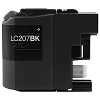 Brother LC207BK Compatible Inkjet Cartridge (1200 page yield) - Black